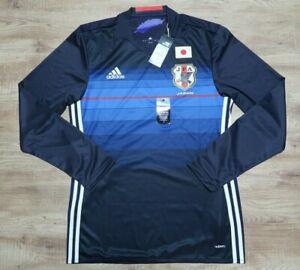 Japan Soccer Jersey Football Shirt 100% Authentic 2016/2017 Home XO adizero