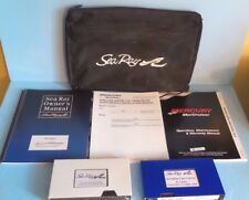 04 05 2004 2005 SEA RAY 180 SPORT BOAT OWNERS MANUAL SET