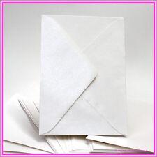 Metallic Pearl Bridal White 5x7 Envelope -Italian High Quality130x185mm -Pack 25