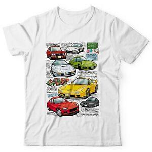 Mazda Rotary RX-7 JDM Shirt