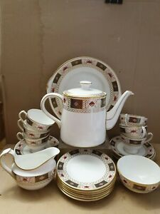 Royal Crown Derby ~Derby Border - Full Tea Set: ~ Perfect~ best quality~ 1979~