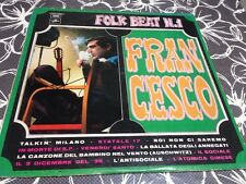 Francesco Guccini  🇮🇹 Folk Beat N.1 disco Lp 33 giri