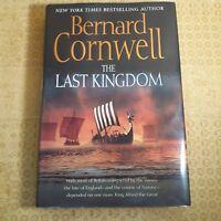 Bernard Cornwell ~ THE LAST KINGDOM ~ New, 1st American Ed. ~ SIGNED BY CORNWELL