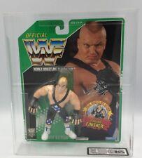 WWF Hasbro MEGA RARE! Green Card Series 11 LUDVIG BORGA! UKG GRADED FIGURE 85%!