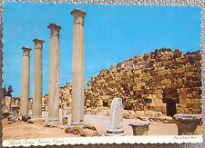 "CYPRUS 1960's ""MARBLE FORUM, SALAMIS, FAMAGUSTA"" OLD MINT MONA POSTCARD"