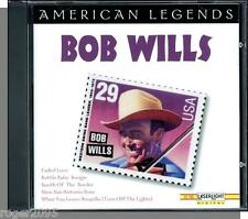 Bob Wills - American Legends (1970's Tracks) - New 1996 Western Swing Music CD!