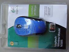Brand New Logitech M305 Wireless Optical USB 5-Button Scroll Mouse 910-001899