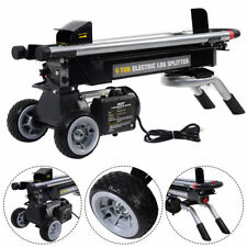 1500W 6 Ton Electric Hydraulic Log Splitter Wood Portable Cutter Powerful