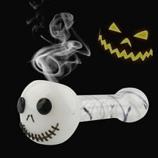 Glass Tobacco Pipe Halloween Portable Pipes Collectible Smoking Accessories