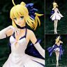 Anime Fate stay night Saber Lily Dress PVC Complete Figure Model Gift