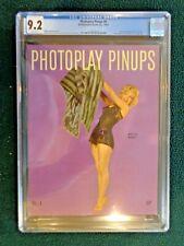 Photoplay Pinups #4 1953 Marilyn Monroe CGC 9.2 Betty Grable / Rita Hayworth NM-