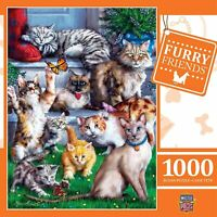 Butterfly Chasers - Cats and Kittens Furry Friends 1000 Piece Jigsaw Puzzle