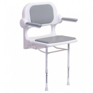 AKW 02130 - 02230 - 02130P - 02230P STANDARD FOLD UP 2000 SERIES SHOWER SEAT