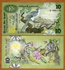 Sri Lanka / Ceylon 10 Rupees, 1979, P-85 UNC > Birds