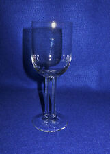 "ROSENTHAL CRYSTAL ""CUPOLA"" WHITE WINE STEM (s) - MINT"