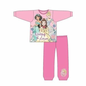 GIRLS DISNEY PRINCESS SNUGGLE FIT PYJAMAS - LIVING THE DREAM