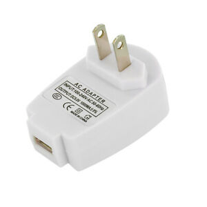 2X USB 1Amp Wall Home Travel Charger Accessory White for Cell Phones