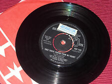 Ray Charles:  Take These Chains From My Heart   1963  HMV    7""