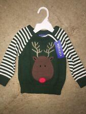 Reindeer Sweater Baby Boy 12m