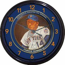 "NY Mets Gil Hodges #14 Rheingold Beer Beer Tray Wall Clock Dodgers Baseball 10"""