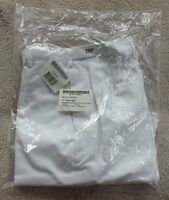 US Navy Authentic Women White Uniform Pants Slacks New In Plastic Size 8MP