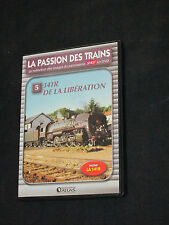 DVD LA PASSION DES TRAINS N° 5 - 141R DE LA LIBERATION  - EDITIONS ATLAS