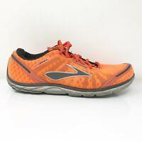 Brooks Mens Pure Connect 1101081D867 Orange Running Shoes Lace Up Size 9 D