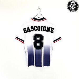 1997/98 GASCOIGNE #8 Rangers Vintage Nike Away Football Shirt Jersey (S)