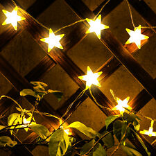 10ft 30 LED Lights Star Fairy Lights Battery Operated Star String Lights Funny