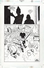 GORAN PARLOV  Original Art Page OUTLAW NATION