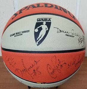 LA SPARKS *SIGNED WNBA FULL SIZE BASKETBALL Candace Parker, DeLisha Milton-Jones