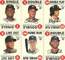 """2017  TOPPS  HERITAGE   '68 TOPPS GAME   """"RED BACK""""  COMPLETE 15 CARD SET"""