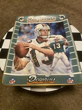 1998 Dan Marino Record Breaker Counting Miami Dolphins Bradford Exchange Plate