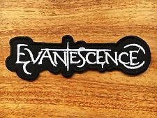 Evanescence Sew Iron On Patch Embroidered Music Band Heavy Metal Music Badge Log