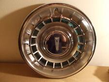 61 Oldsmobile Starfire 98 SINGLE Deluxe Wheel Cover Hubcap W/Ornament Ring VGC