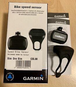 Garmin Bike Speed Sensor, Rubber Hub Mount, Easy Fit/Release, Boxed