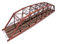 "Central Valley Model Works HO Double 200' Parker ""Hybrid"" Truss Bridge Kit #1900"
