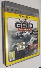 Racedriver Grid Reloaded Platinum - PlayStation 3 Ps3