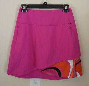 Kinona Women's XS Hot Pink Golf Skort Pockets