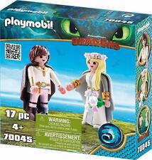 Dreamworks Dragons Astrid et Hiccup par Playmobil