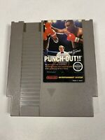 Rare - NES Mike Tyson Punch Out w/ White Bullets Cleaned Tested Works Great