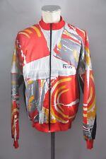 Rizi vintage Rad Jacke cycling jacket Trikot Gr. L 90er 90s BW 62cm