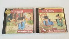 (2) Baby Genius CDs: Nature's Experience and Sweet Dreams Lullabies (CD, 1999)