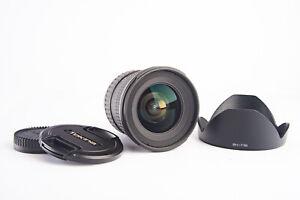 Tokina AT-X Pro SD AF 11-16mm f/2.8 IF DX II Wide Angle Lens Nikon Near Mint V10