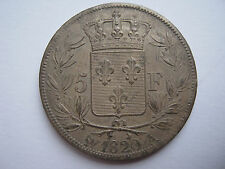 France 1820-A silver 5 Francs, A UNC.