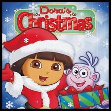 DORA THE EXPLORER - DORA'S CHRISTMAS CD with BONUS CD ROM ACTIVITY GAME *NEW*