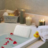 Luxury Waterproof Home Spa Bath Pillow Non-Slip Comfort Bath Cushion Suction