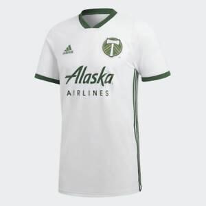 Adidas MLS Portland Timbers Away Jersey White,Green CW5471