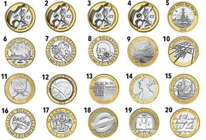 COINS £2 RARE TWO POUND COINS 1986-2021 N. IRELAND,OLYMPIC AUSTIN,BREAST CANCER