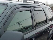 Platinum Bug Shield & Tape-On Wind Deflectors for a 2007 - 2012 Ford Expedition